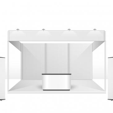 Montagem de stands e os materiais utilizados