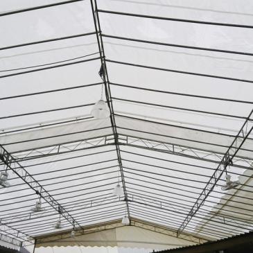 A proteção de teto ideal para o seu evento