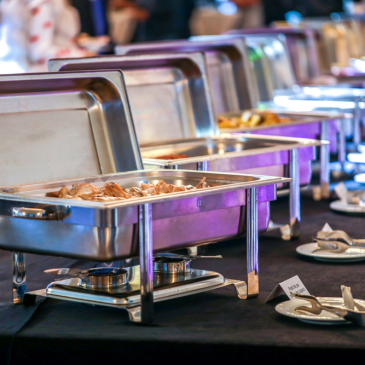 A importância do buffet no evento