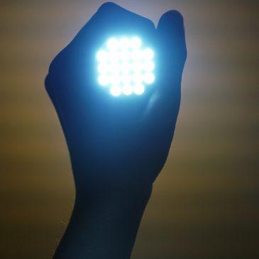 O LED e os equipamentos
