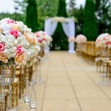 Serviços para organizar uma festa de casamento