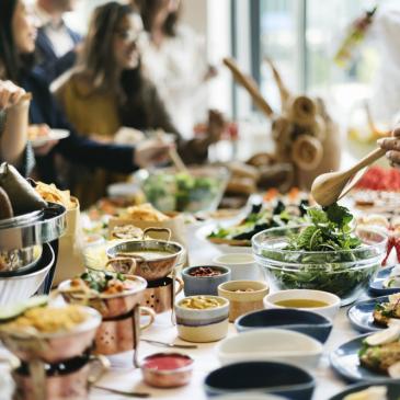 Praça de alimentação é importante em eventos corporativos